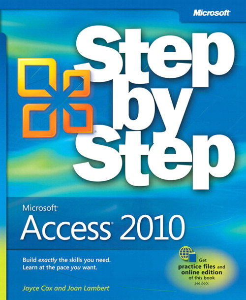 Microsoft® Access® 2010 Step by Step