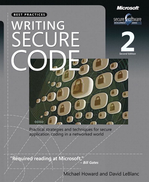 Writing Secure Code, 2nd Edition