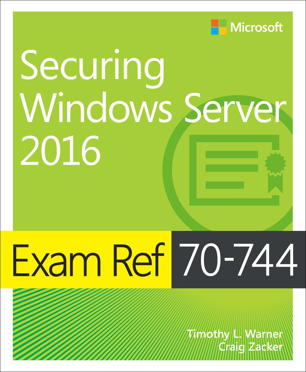 Exam Ref 70-744 Securing Windows Server 2016