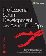 book cover: Professional Scrum Development with Azure DevOps
