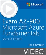 book cover: Exam AZ-900: Microsoft Azure Fundamentals (Video), 2nd Edition