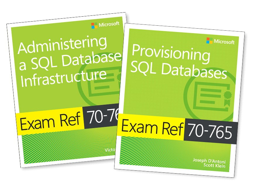 Mcsa Sql 2016 Database Administration Exam Ref 2 Pack Exam Refs 70