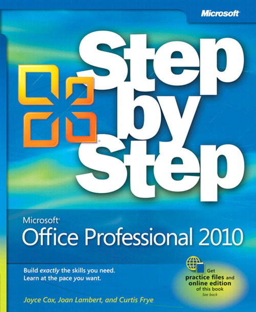 Microsoft Office Professional 2010 Step by Step