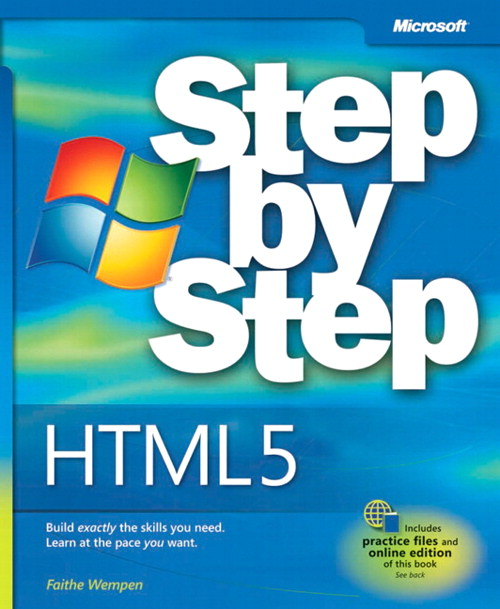 HTML5 Step by Step | Microsoft Press Store