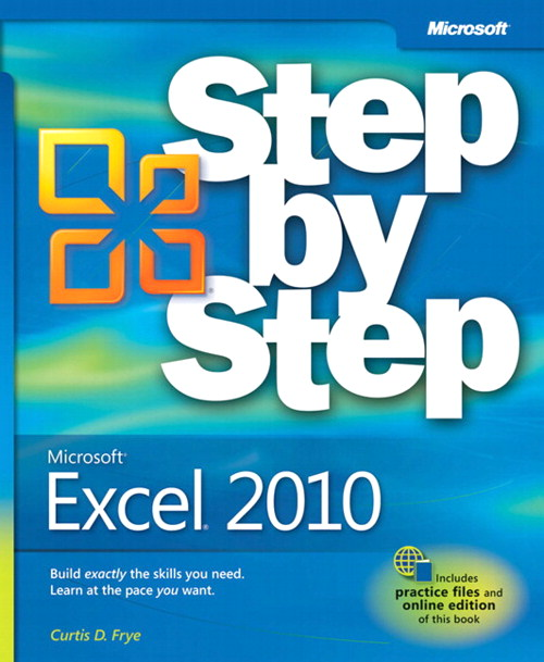 Microsoft Excel 2010 Step by Step
