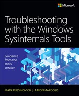 book cover: Troubleshooting with the Windows Sysinternals Tools, 2nd Edition