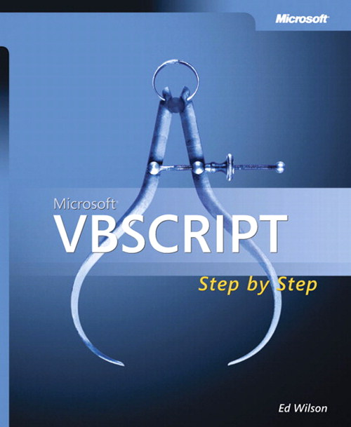 Microsoft VBScript Step by Step