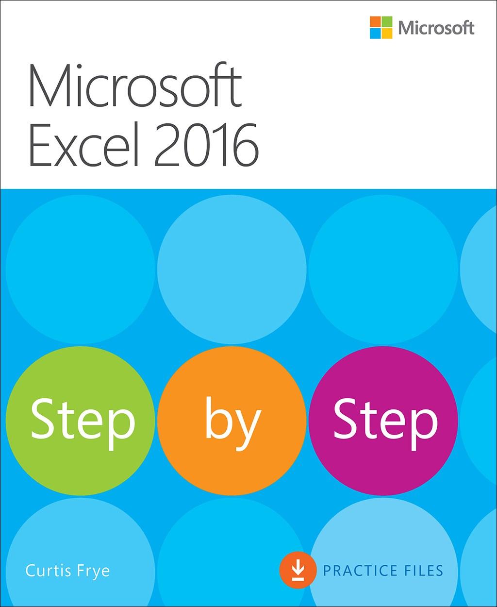 microsoft excel 2016 step by step microsoft press store