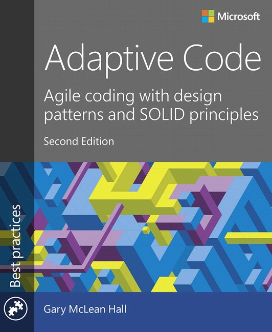 Kindle Book Cover Design Software : Adaptive code agile coding with design patterns and solid