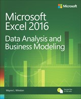 book cover: Microsoft Excel Data Analysis and Business Modeling, 5th Edition