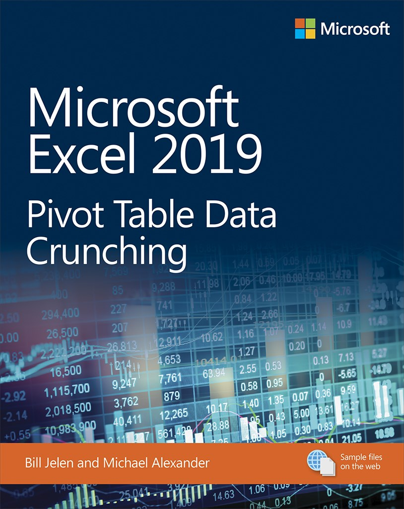 microsoft excel 2019 pivot table data crunching microsoft press store